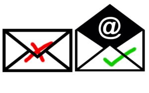Gutscheine per Mail Versand